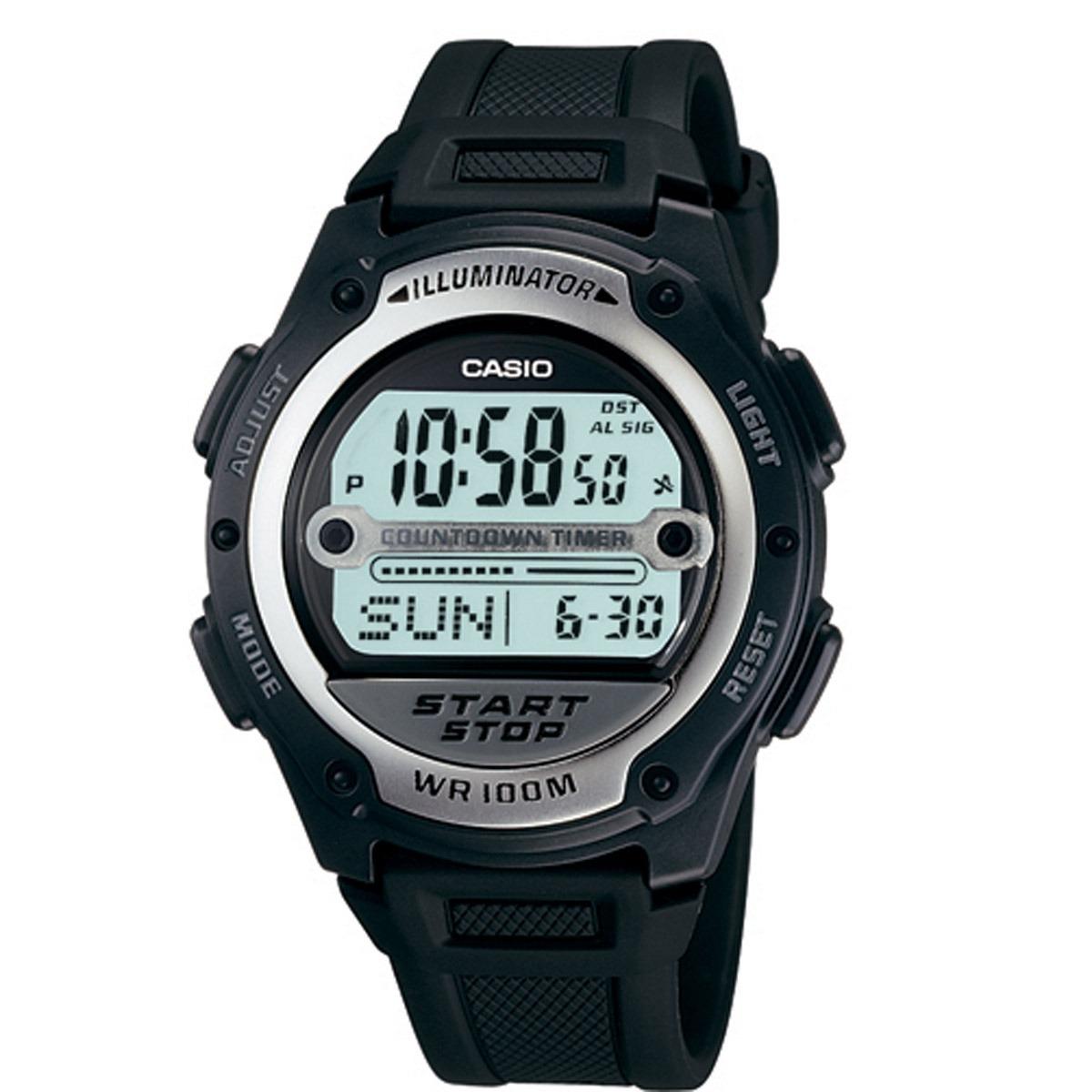 69a5098072c Relógio Casio Digital Masculino W-756-1avdf - R  219