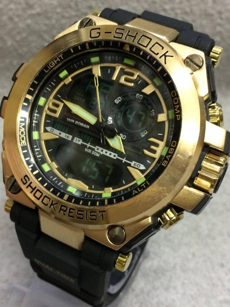 9e2d8061323 relógio casio masculino g-shock dourado promoção. Carregando zoom... relógio  casio masculino. Carregando zoom.