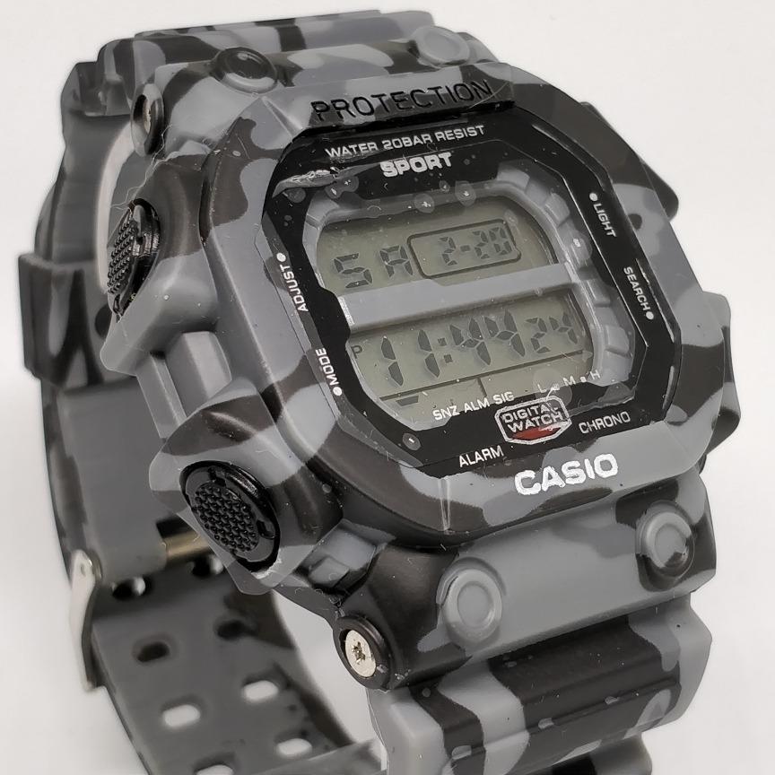 007afbd9b74 Relogio Casio Camuflado Digital Militar Masculino Sport - R  120