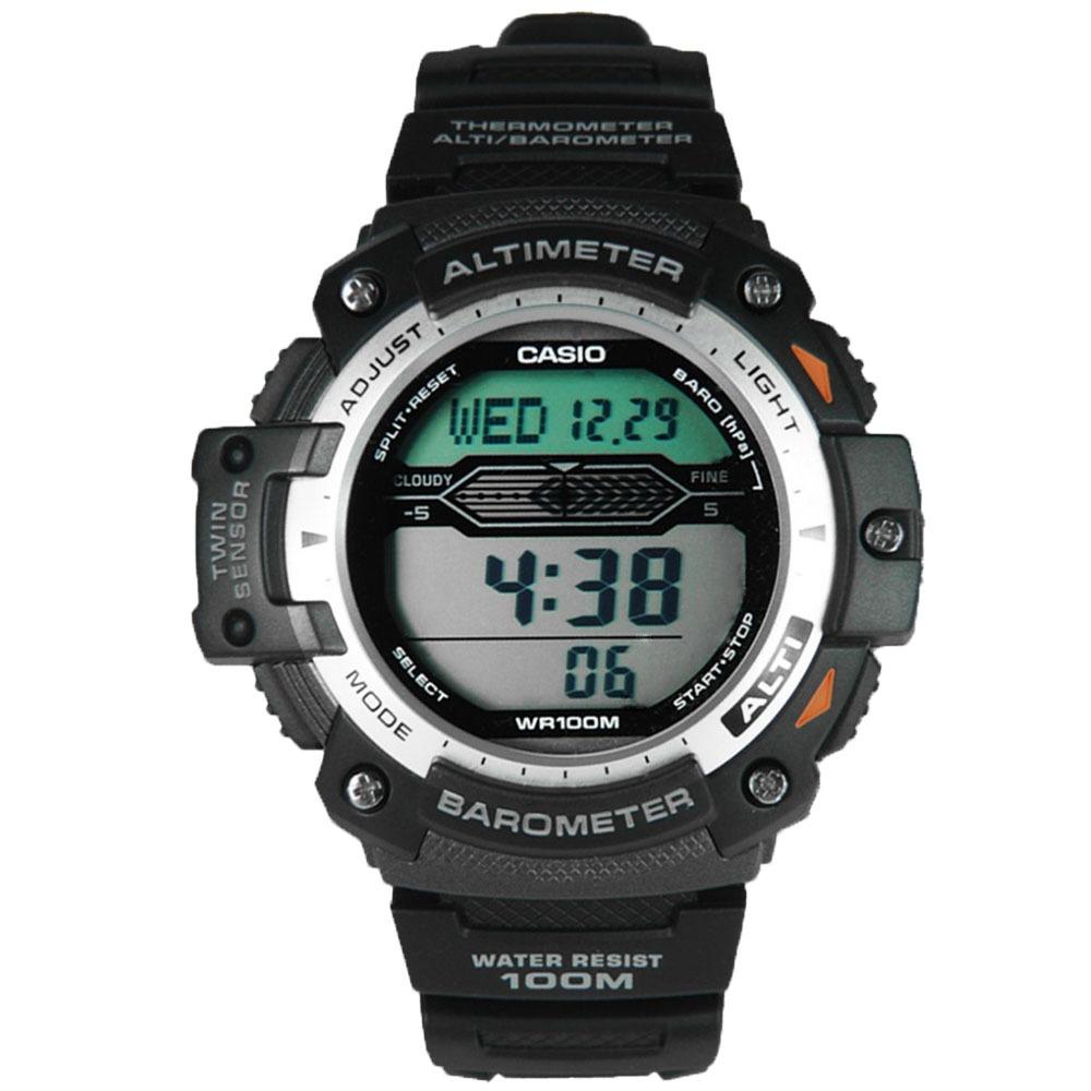 9c2017fc5c7 relógio casio pro trek triple sensor masculino sgw-300h-1av · relógio casio  masculino. Carregando zoom.