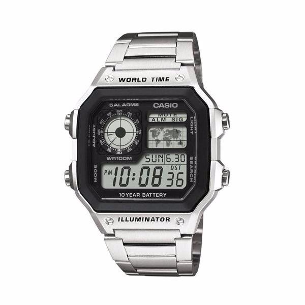 6302b2d5a0f Relógio Casio Masculino Ae 1200whd Horário Mundial - R  199