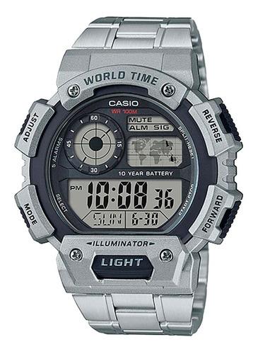 relógio casio masculino ae-1400whd-1avdf sport world map