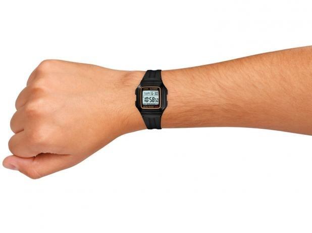 08e9cc723c2 Relógio Casio Masculino Alarme Digital Cronometro Calendário - R ...