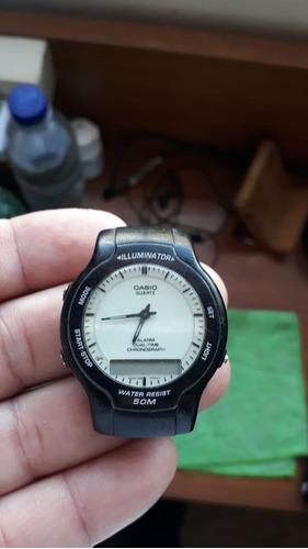 relógio casio masculino classic - aw 43 funcionando
