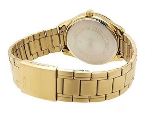 relógio casio masculino classic standard mtp-v005g-7audf
