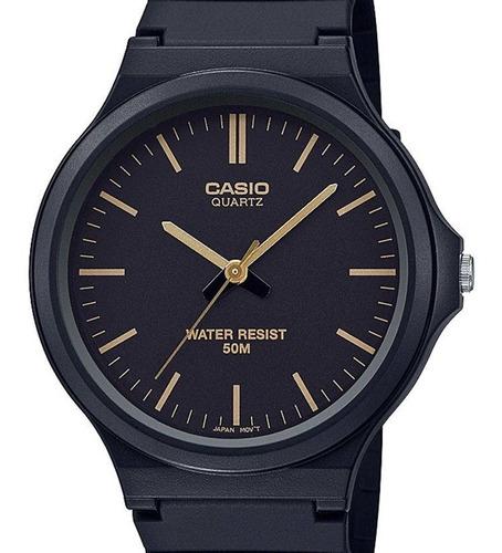 relógio casio masculino classico preto analogico