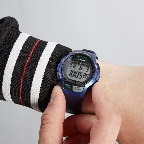 relógio casio masculino digital esportivo preto prova dagua