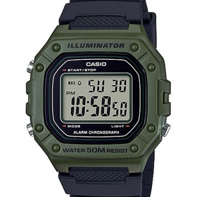 Relógio Casio Masculino Digital Illuminator W-218h-3avdf