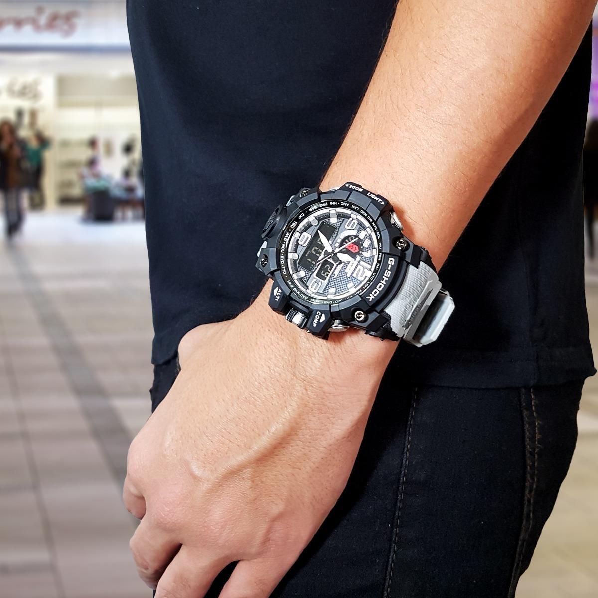 157d118d74e relógio casio masculino digital sport g shock 1000. Carregando zoom.