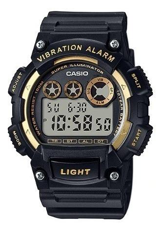 relógio casio masculino digital w-735h-1a2vdf original nota