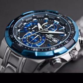 3a53d759e9fe Relógio Casio Edifice Azul - Joias e Relógios no Mercado Livre Brasil