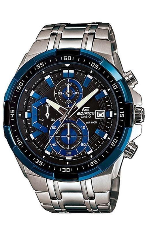 8c04a07e082e relógio casio masculino edifice ef-539 preto azul original. Carregando zoom.