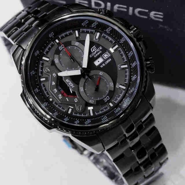b58051fc8fa Relógio Casio Masculino Edifice Ef-558d-preto Black Oferta - R  288 ...