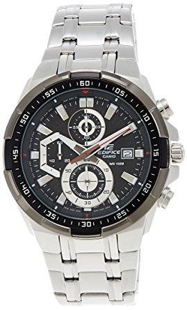 bbae299be82 Relógio Casio Masculino Edifice Ef539 Aço Fundo Preto - R  194