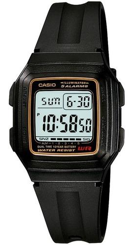 relógio casio masculino f-201wa-9adf