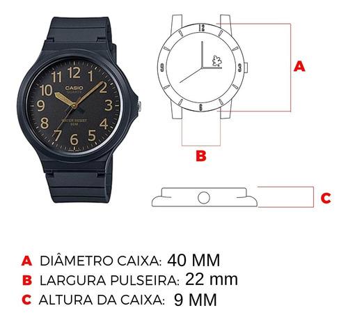 relógio casio masculino feminino vintage preto original