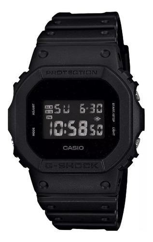 relógio casio masculino g-shock digital preto dw-5600