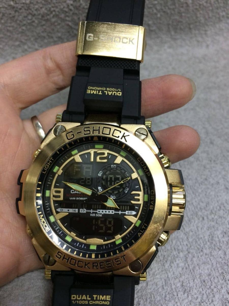 22a2ad010dd relógio casio masculino g-shock dourado promoção. Carregando zoom.