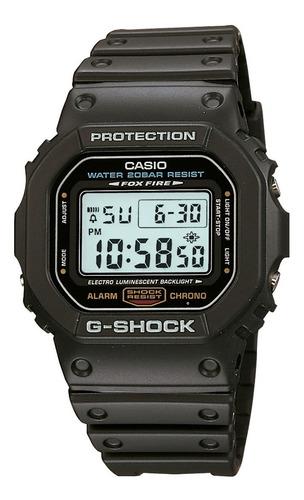 relógio casio masculino g-shock dw-5600e-1avdf original nf