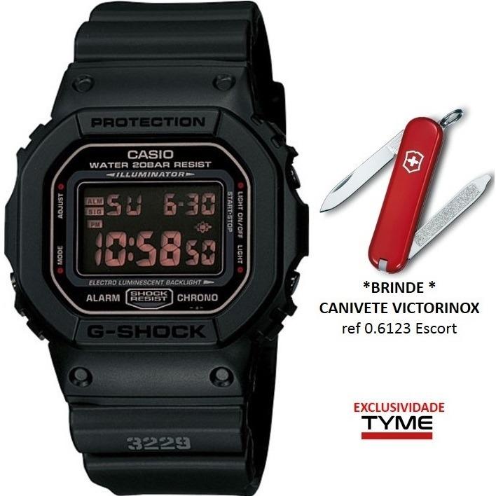 2f3338db54a Relógio Casio Masculino G-shock Dw-5600ms-1dr + Brinde C  Nf - R ...
