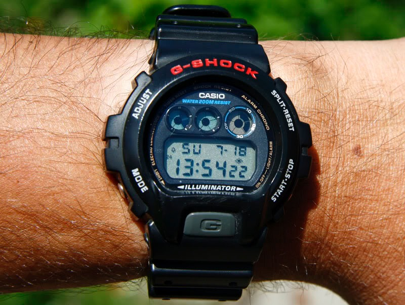 c1c6002f0 relógio casio masculino g-shock dw-6900-1vdr original nf. Carregando zoom.