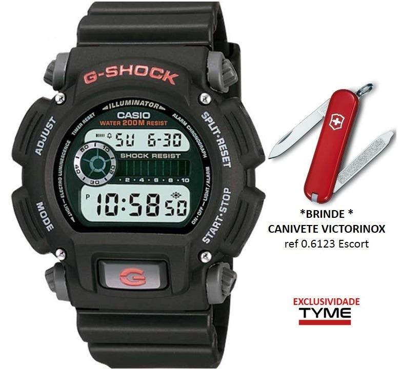 799e285c2 Relógio Casio Masculino G-shock Dw-9052-1vdr + Brinde C  Nf - R  388 ...