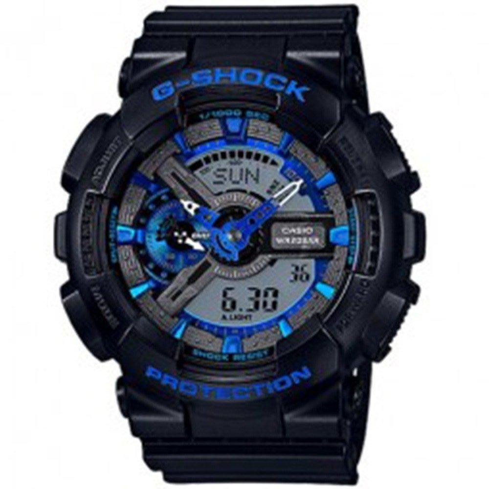 8ab012a4b67 relógio casio masculino g-shock ga-110cb-1adr preto azul. Carregando zoom.