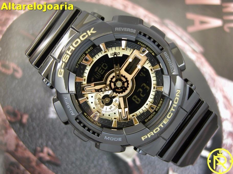 af0dfb95e90 relógio casio masculino g-shock ga-110gb-1adr. Carregando zoom.