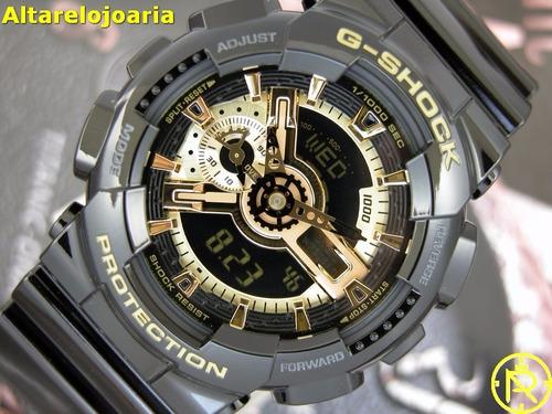 bc005403e3c Relógio Casio Masculino G-shock Ga-110gb-1adr - R  649