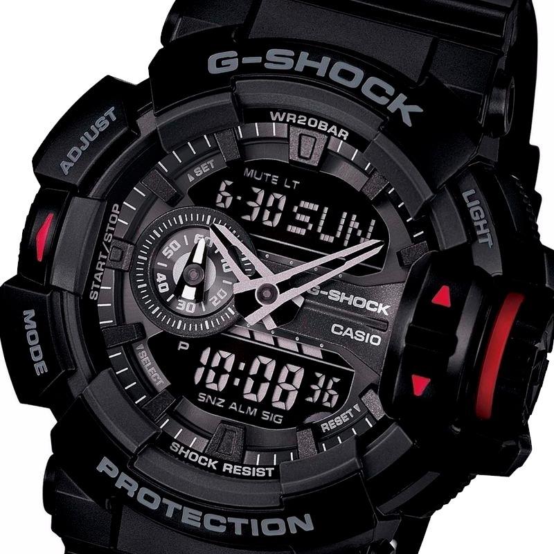9cd65802bde relógio casio masculino g-shock ga-400-1bdr. Carregando zoom.