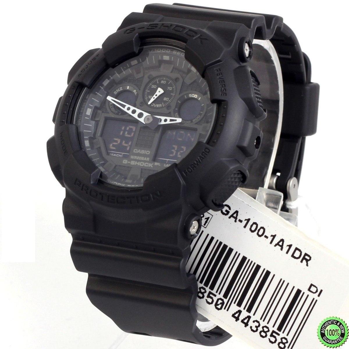 f454734dbce Relógio Casio Masculino G-shock Ga100 1a1dr Original