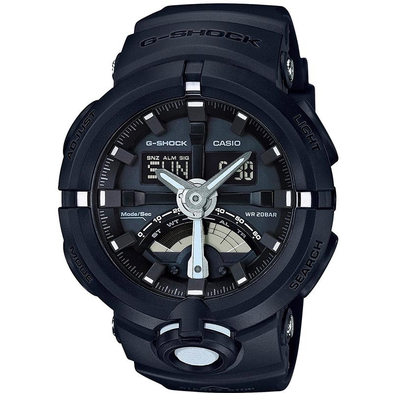 bd50deb1c52 relógio casio masculino g-shock preto original ga-500-1adr. Carregando zoom.