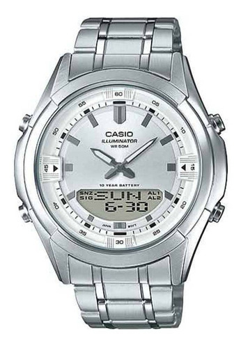 relógio casio masculino illuminator amw-840d-7avdf