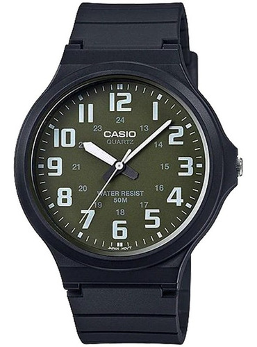 relógio casio masculino mw-240-3bvdf