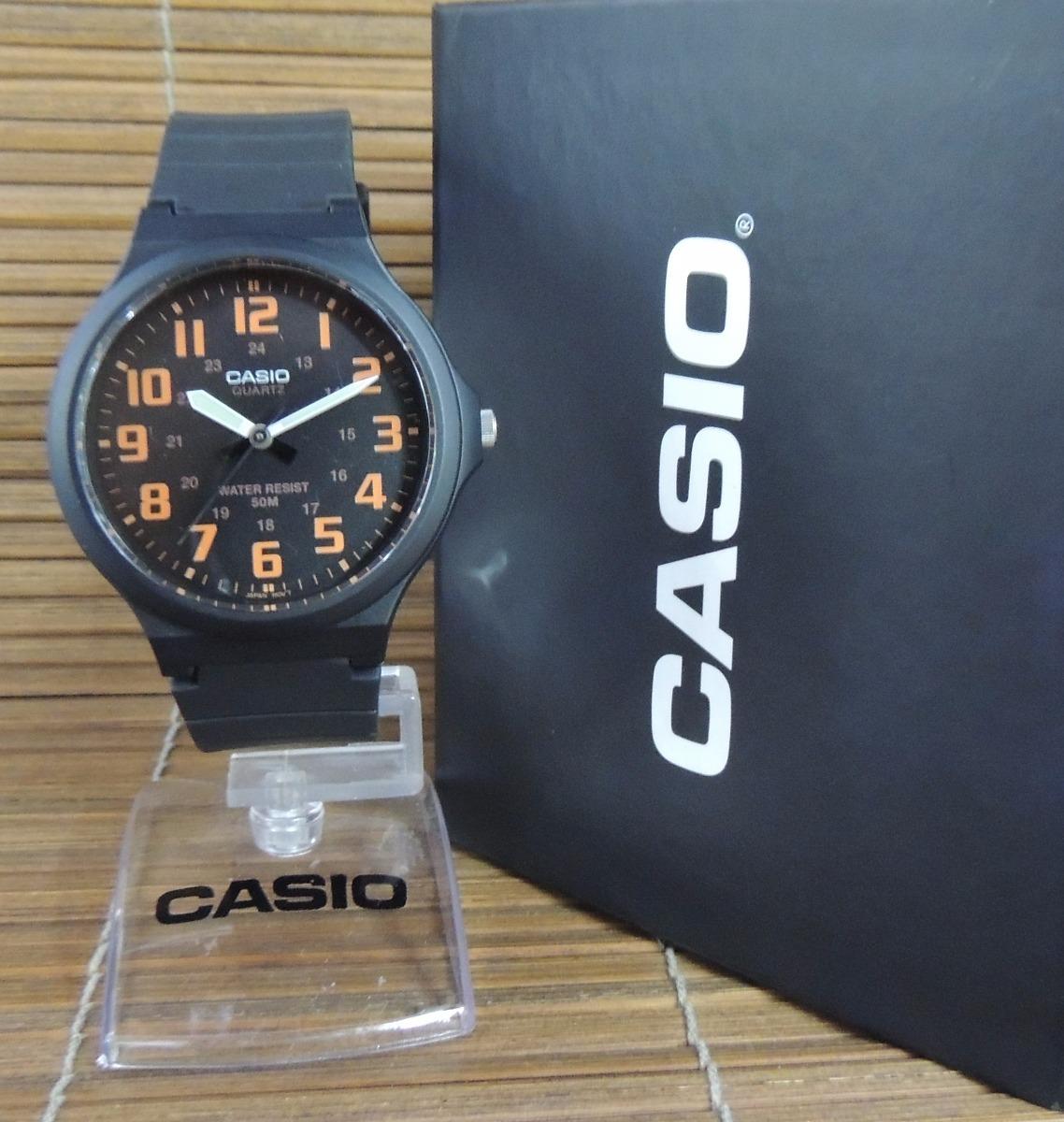 7a115fdc9f3 relógio casio masculino mw-240-4bvdf lançamento ( nf). Carregando zoom.