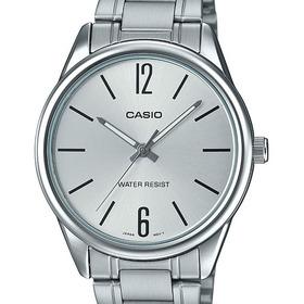 Relógio Casio Masculino Prata Mtp-v005d-7budf-sc