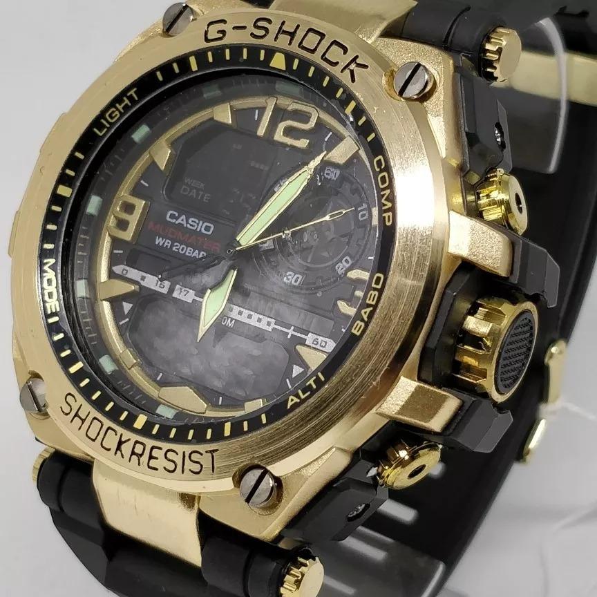 7de5b483fd5 relógio casio masculino promoção g-shock catraca de ferro. Carregando zoom.