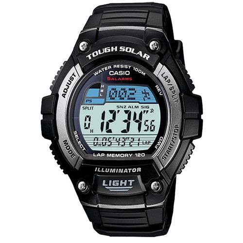 relógio casio masculino tough soular w-s220-1avdf.