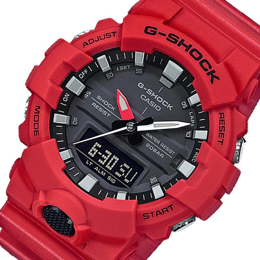 72605151f0c relógio casio masculino vermelho ga 700 4adr original! Carregando zoom.