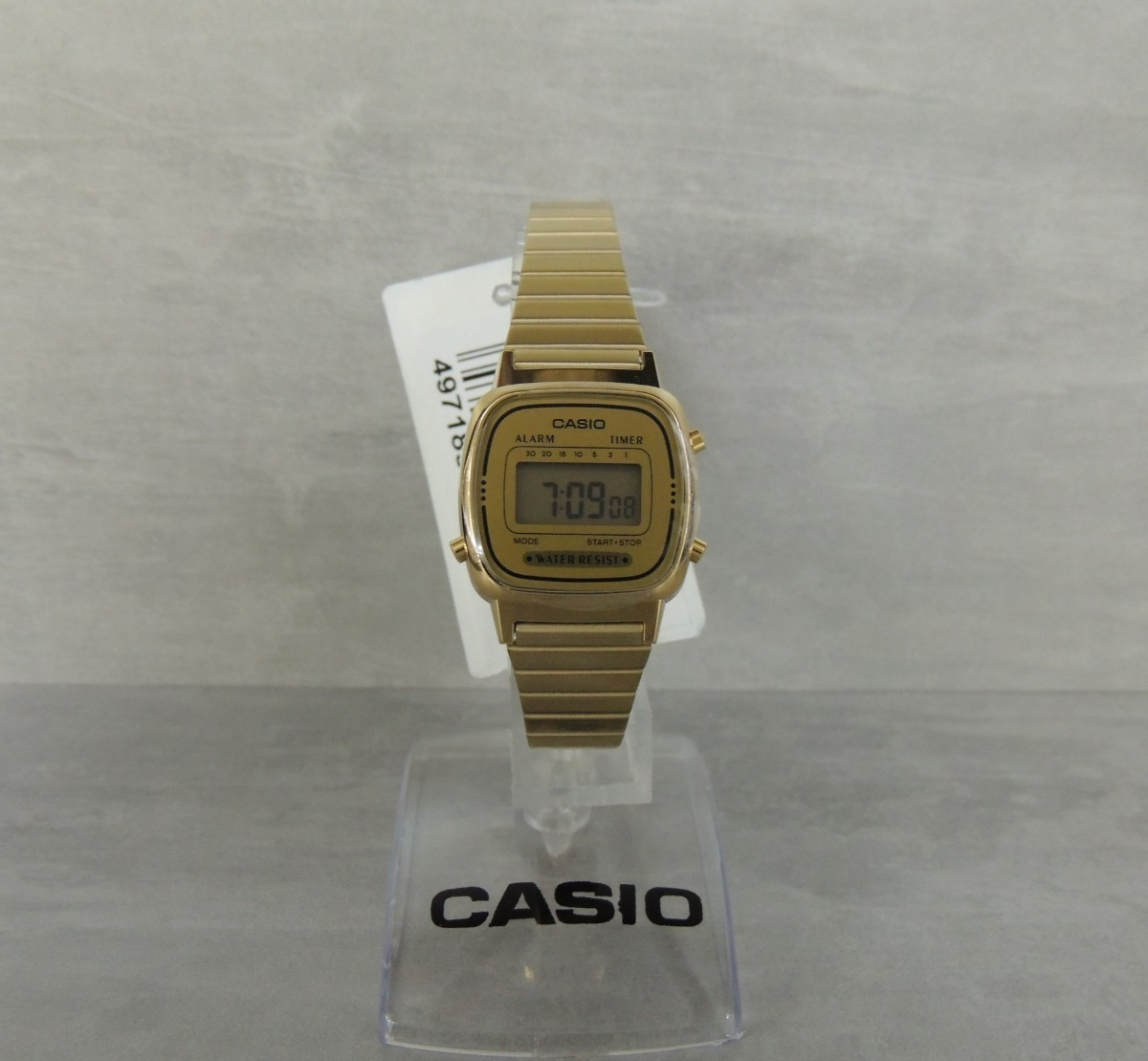c03a05b67bb Relógio Casio Vintage Mini La670wga-9df - Nf E Garantia - R  308