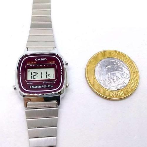 relógio casio mini
