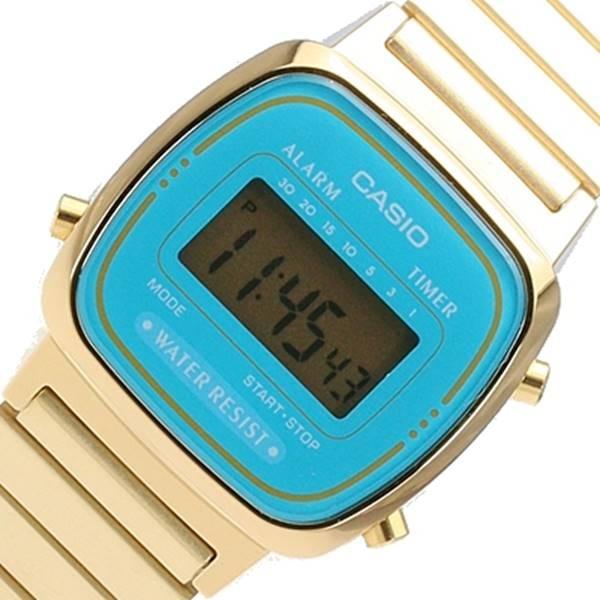 198f0d4006d Relógio Casio Mini Dourado La670wg Retro Novo 100% Original - R  214 ...