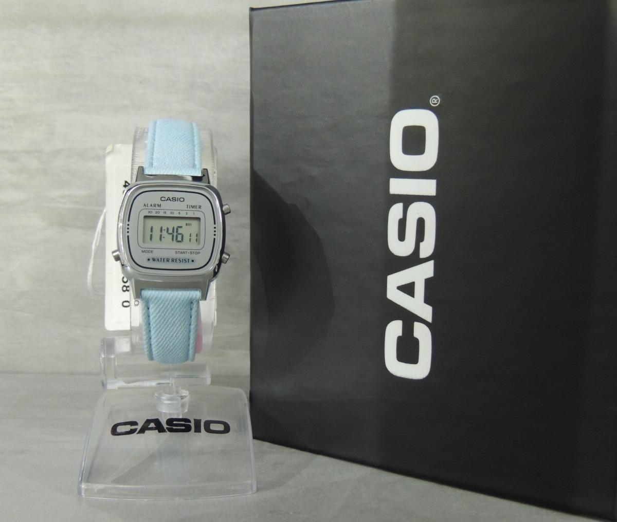 b5d115d3fce Relógio Casio Mini Vintage Mod  La670wl-2adf (nf garantia) - R  209 ...
