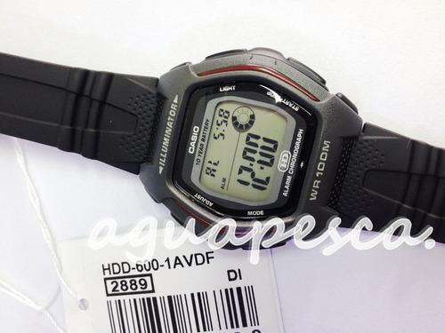 550888a8942 Relógio Casio Modelo Hdd-600-1avdf Esportivo Digital - R  129