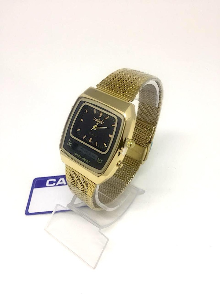 068eff8c70a relógio casio modelo novo dourado - frete gratis. Carregando zoom.