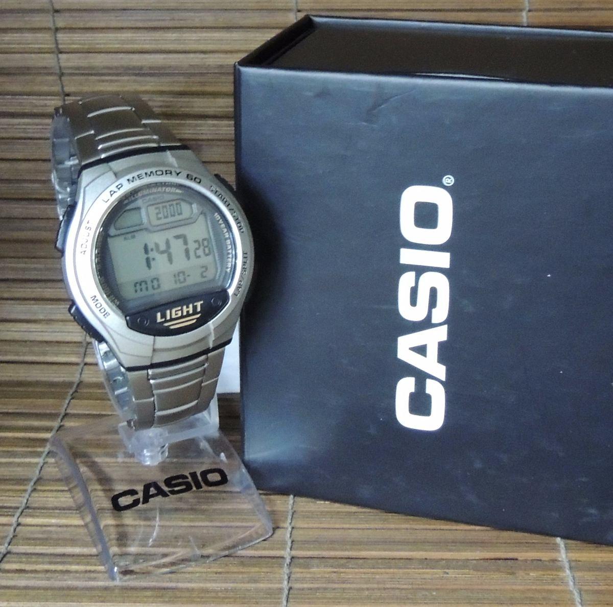 fc250b67838 Relógio Casio Modelo  W-734d-1avdf - Nf + 1 Ano Garantia - R  249