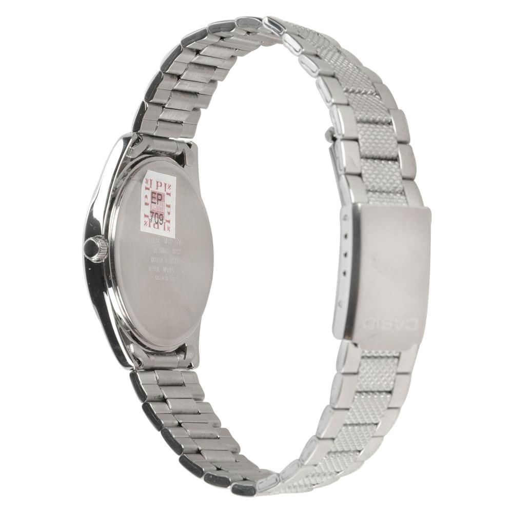 9fdce99a0b1 Relógio Casio Mtp-1274d-7a Analógico Mostrador Prata - R  258
