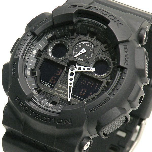 3b0ed3c48bd Relogio Casio Original G-shock Analógico Digital Ga100-1a1 - R  460 ...