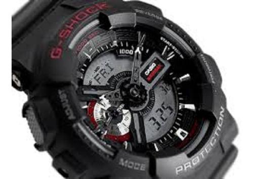 relógio casio original g-shock  ga-110-1adr com nota fiscal