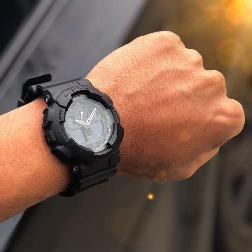 relógio casio original masculino g-shock ga-100-1a1dr